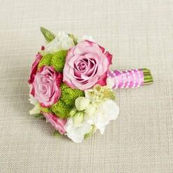 PURE ROMANCE BRIDESMAID BOUQUET