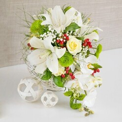 LILIUM WEDDING CENTREPIECE