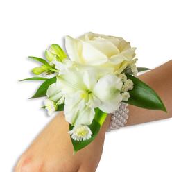 WHITE WONDERS WEDDING CORSAGE 1